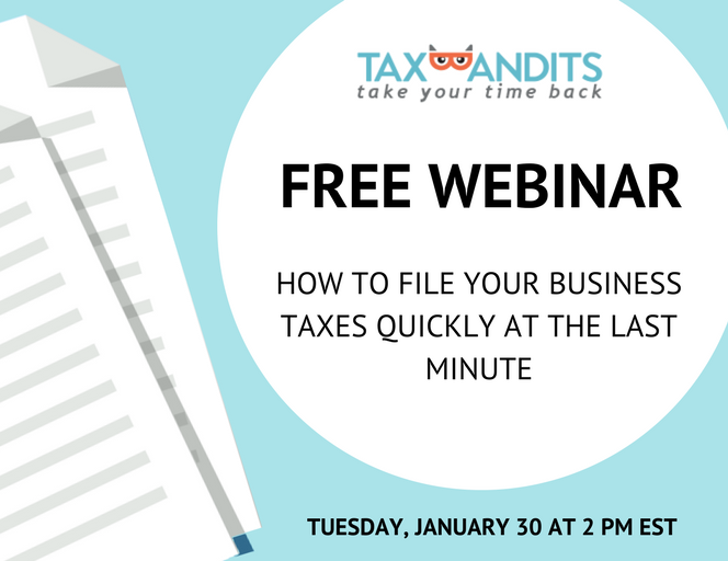Join the TaxBandits webinar