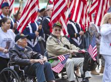 VFW_veterans at military parade