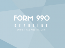 deadline to file form 990