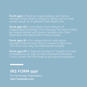 Form 990 series