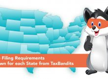 W2 State Filing Requirements of each state from TaxBandits