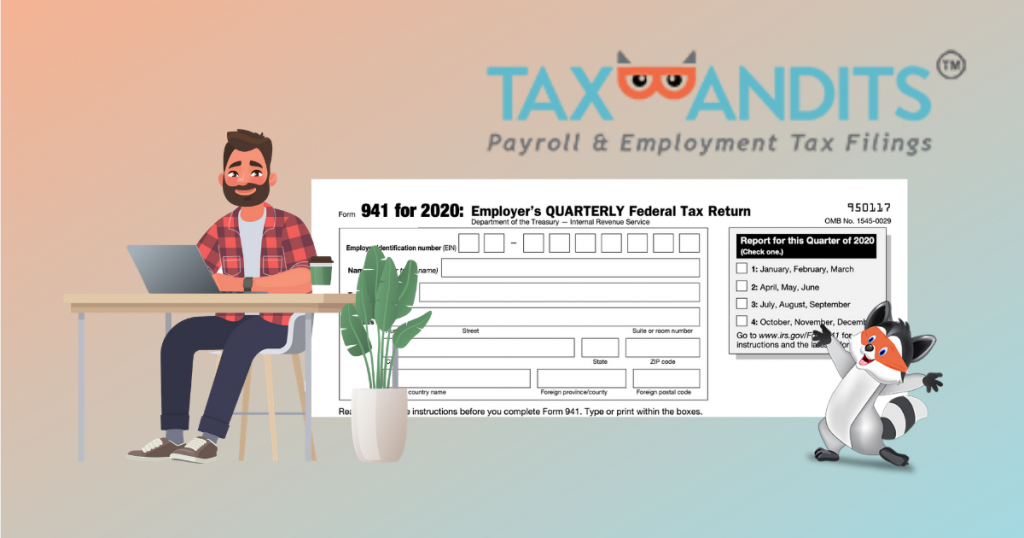 Form 941 for 2020